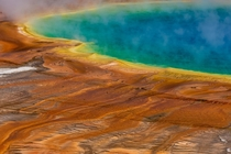 Grand Prismatic Hot Spring Yellowstone National Park Wyoming
