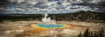 Grand Prismatic Spring - Midway Geyser Basin Yellowstone National Park