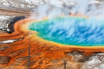 Grand Prismatic Spring Yellowstone National Park  OC