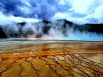 Grand Prismatic Spring - Yellowstone National Park Wyoming