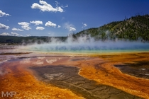 Grand Prismatic Spring Yellowstone WY