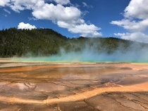 Grand Prismatic Yellowstone National Park  x