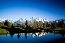 Grand Teton Mountains - Jackson Hole Wyoming by Kim Olson