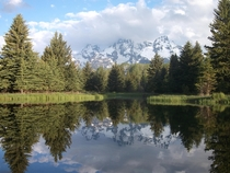 Grand Teton National Park at Schwabachers Landing