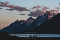 Grand Teton National Park is pretty damn majestic at sunset