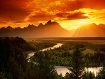 Grand Teton National Park WY USA