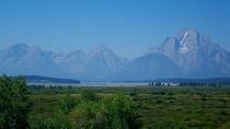 Grand Teton Range Wyoming USA