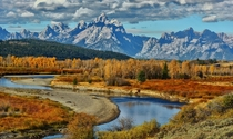 Grand Tetons WY  by Jeff Clow