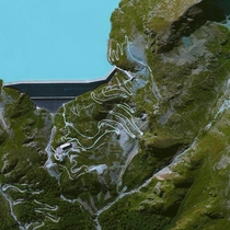 Grande Dixence Dam Switzerland the worlds tallest gravity dam