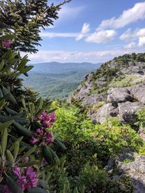 Grandfather Mountain Blue Ridge Mountains NC