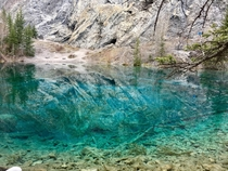 Grassi Lakes in Canmore just outside of Banff Canada OC  x