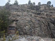 Grberget Sweden An abandoned and sealed coastal military base buried in the cliffside It hides over sqm of tunnels connecting bunkers and gun sites m below ground and could house  men Full album in comments