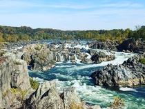 Great Falls was great  degree weather was not  Great Falls Virginia