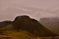 Great Gable looking sinister the other week in the Lake District UK