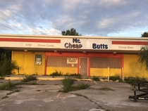Great Name for an Abandoned Convenience Store