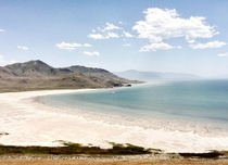 Great Salt Lake Utah USA It was more weird than beautiful