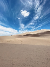 Great Sand Dunes National Park and Preserve Colorado  x