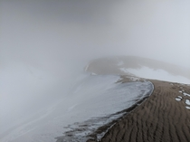 Great Sand Dunes National Park and Preserve fogged over and around -F