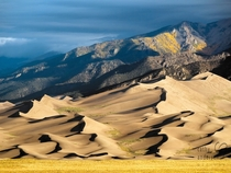 Great Sand Dunes National Park Colorado by Cathy Andersen