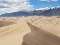 Great Sand Dunes National Park Colorado Caleb Fischer