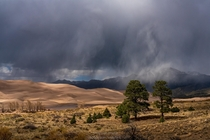 Great Sand Dunes Storm Rising