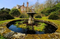 Great shot of Potters Manor from the garden by Greg Mckenzie Sussex England