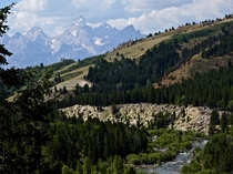 Great View from the Gros Ventre Wilderness Wyoming