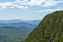 Green and blue - Tumbledown Mountain in lovely Maine -