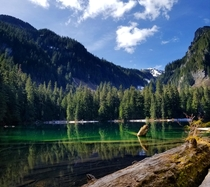 Green Lake - Rainier National Park WA