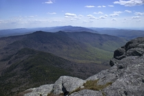 Green Mountain view from Camels Hump summit VT
