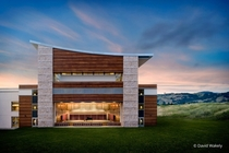 Green Music Center indoor-outdoor concert hall at Sonoma State University in Rohnert Park Calif by AC Martin