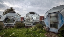 Greenhouse domes in germany