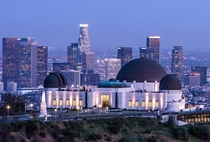 Griffith Observatory Museum in Los Angeles California