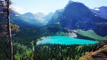 Grinnell Lake at Glacier National Park