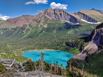 Grinnell Lake  Glacier National Park Montana USA