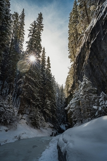 Grotto Canyon Canmore AB