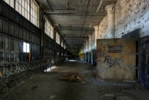 Ground floor of Harbor Terminal Building in Detroit MI