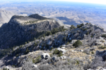 Guadalupe Mountains in West Texas