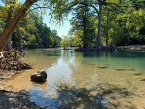 Guadalupe River in Canyon Lake TX