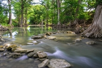 Guadalupe River in the Texas Hill Country