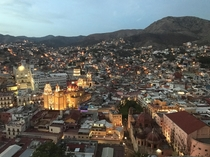 Guanajuato City from above x