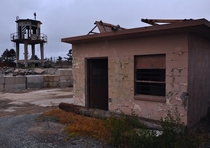 Guard towers at the Fort Ord stockade Scene of riots burned buildings and civil rights unrest Definitely a place with a very checkered past Ill post some history links in the comments OC x