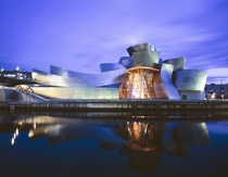 Guggenheim Museum in Bilbao Spain x