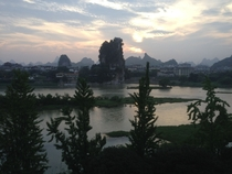 Guilin China from my hotel room