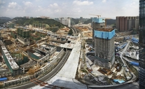 Guiyang under construction