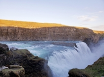 Gullfoss Iceland just a small portion of it Couldnt believe its in a canyon