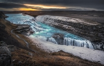 Gullfoss Iceland  photo by Coolbiere A