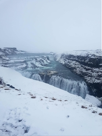 Gullfoss in Iceland one of many amazing places in this unique and beatiful paradise