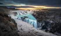 Gullfoss waterfall by CoolbieRe Gullfoss