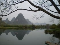 Gumdrop Mountains Yangshuo Guangxi Guilin China